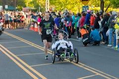 2016 Eugene Marathon Royalty-vrije Stock Fotografie