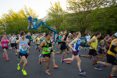 2016 Eugene Marathon Royalty-vrije Stock Afbeeldingen
