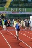 2016 Eugene Marathon Stock Afbeeldingen