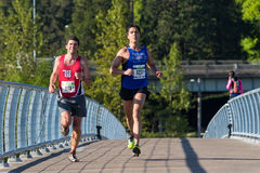 Eugene Marathon Race 2017 Fotos de Stock