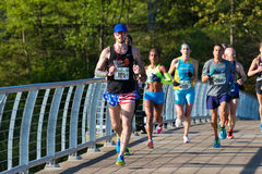 Eugene Marathon Race 2017 Fotografie Stock Libere da Diritti