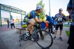 2017 Eugene Marathon Race Stock Photos