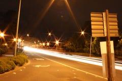 Eugene nachts lizenzfreies stockfoto