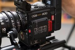 RED Digital Cinema Epic-W Camera Stock Images
