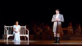 Eugene Onegin-opera stock footage