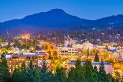 Eugene, Oregon, USA Skyline stock photo