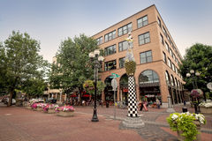 Eugene Oregon van de binnenstad Stock Foto