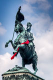Eugene of Savoy monument Stock Photography