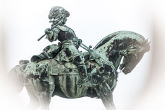 Eugene of Savoy's monument in Budapest. Royalty Free Stock Photos