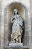 Eugenie, Countess of Teba. St. Elizabeth of Hungary church, Paris royalty free stock photos