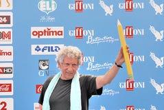 Eugenio Bennato al Giffoni Ekranowy festiwal 2016 Obraz Stock