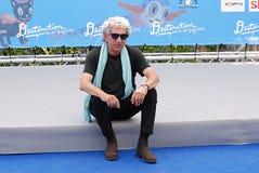 Eugenio Bennato al Giffoni Film Festival 2016 Photographie stock