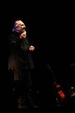 Eugenio Finardi Live Concert Photographie stock libre de droits