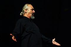 Eugenio Finardi Live Concert Photo libre de droits