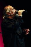 Eugenio Finardi Live Concert Photos libres de droits