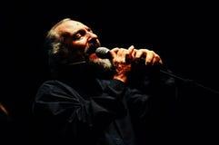 Eugenio Finardi Live Concert Images stock