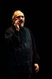 Eugenio Finardi  Live Concert Royalty Free Stock Image