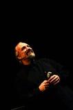 Eugenio Finardi  Live Concert Stock Image