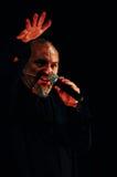 Eugenio Finardi  Live Concert Stock Images