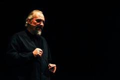 Eugenio Finardi  Live Concert Royalty Free Stock Images