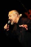 Eugenio Finardi  Live Concert Stock Photo
