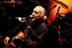 Eugenio Finardi  Live Concert Royalty Free Stock Photography