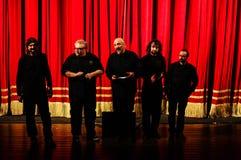 Eugenio Finardi  Live Concert Royalty Free Stock Photos