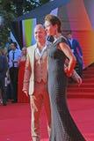 Eugeniy Stychkin at Moscow Film Festival Stock Image