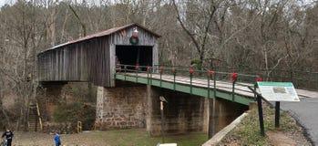 Euharlee Covered Bridge royalty free stock photo
