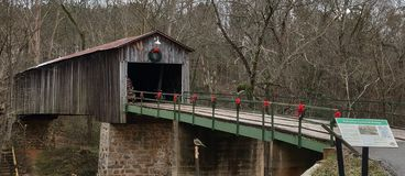 Euharlee Covered Bridge royalty free stock photos