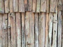 Eukaliptusowego drewna ustalony vertical Zdjęcie Royalty Free