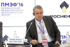 Eulogio Antonio Del Pino Diaz Immagini Stock Libere da Diritti