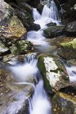 Eume. Section of an area of the River Eume in Galicia Stock Images