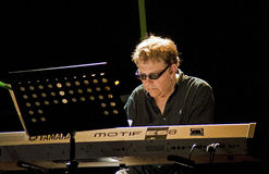Eumir Deodato Europa Xpress. At Ancona Jazz Summer Festival 2010 stock photo