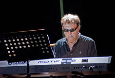 Eumir Deodato Europa Xpress. At Ancona Jazz Summer Festival 2010 royalty free stock images