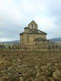 Eunate romanic hermitage Stock Photos