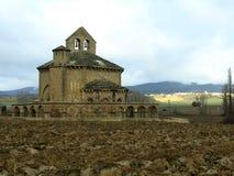 Eunate romanic hermitage Royalty Free Stock Photos