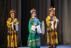 Eunuch-Beijing Opera: Farewell to my concubine Stock Photos