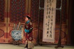 """Eunucken - Shanxi Operatic""""Fu Shan till Beijing† Arkivbild"""