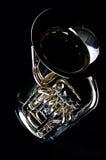 Euphonium bajo de la tuba foto de archivo libre de regalías