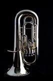 Euphonium basso del Tuba Immagini Stock Libere da Diritti