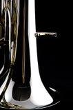 Euphonium basso del Tuba Fotografie Stock