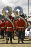 Euphonium players at the World Aids Day Event Royalty Free Stock Image