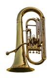 Euphonium, Tuba royalty-vrije stock afbeelding