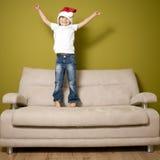 Euphorisme de Noël image libre de droits