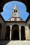 Euphrasian Basilica in Porec Stock Photo