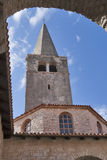Euphrasian Basilica in Porec, Croatia Royalty Free Stock Photo