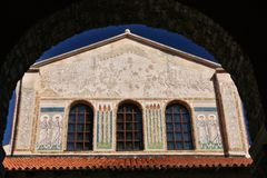 Euphrasian Basilika stockfoto