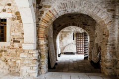 Euphrasian Church Atrium in Porec Stock Photography