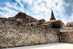 Euphrasius Church in Porec Royalty Free Stock Image